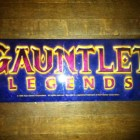 gauntlet legends arcade game marquee