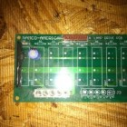 Namco Lamp Drive PCB taken from prop cycle